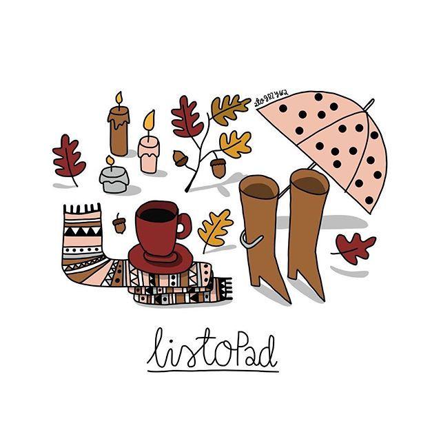 Taki właśnie cały ten listopad  wiecie, ze ta ilustracja pochodzi z kalendarza, który ilustrowałam, a który pobrać możecie zupełnie za darmo na blogu @jestrudo (http://www.jestrudo.pl/kalendarz-2017-do-druku/)? zapraszam serdecznie! Pobierajcie, drukujcie, wieszajcie!!