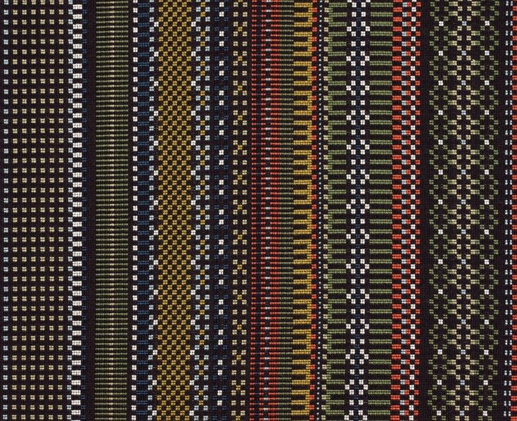 Maharam offers a comprehensive collection of textiles for commercial and residential interiors.  Point by Paul Smith 005 Black & Khaki
