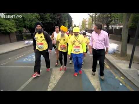 Eat less people..  101-year-old Fauja Singh Runs the London Marathon - Horizon: Eat, Fast and Live Longer