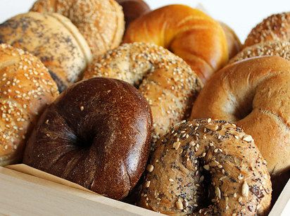 Bests bagels in NYC: Brooklyn Bagel and Coffee Company's. | A Taste Test Of NYC's Best Bagels