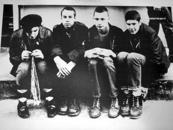 Beastie Boys with Kate Schellenbach, 1982