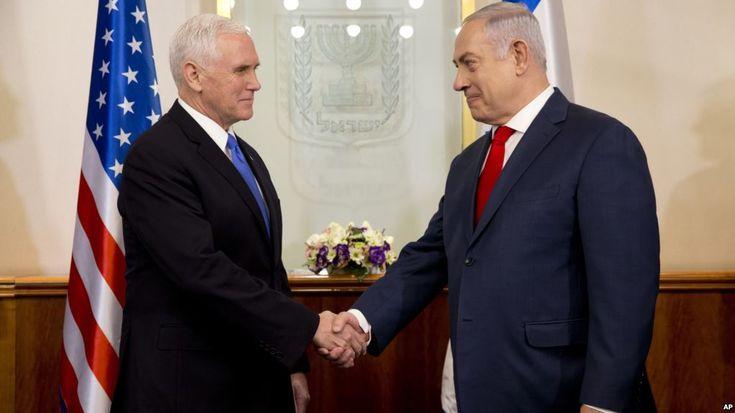 """Voz de América – Redacción,El vicepresidente de Estados Unidos, Mike Pence, dijo el lunes que era un honor """"estar en la capital de Israel, Jerusalén"""", poniendo de relieve una decisión de Estados Unidos de reconocer la ciudad mientras se reunía con el primer ministro israelí, Benjamin Netan..."""