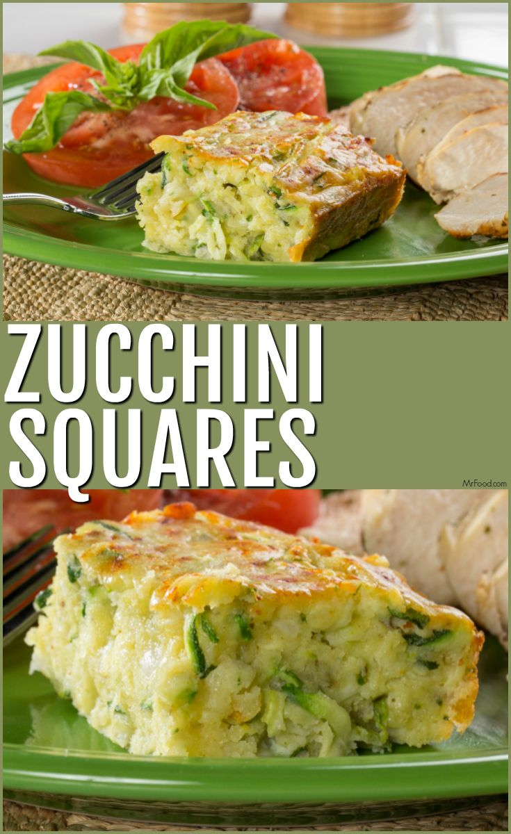 A cheesy and tasty way to serve zucchini with dinner!