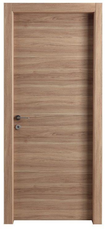 Wooden interior door - brown