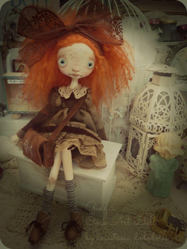 Ginger by anastasia dododolls