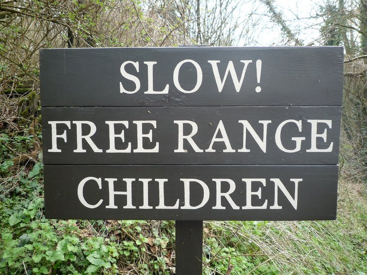 Slow! Free Range Children