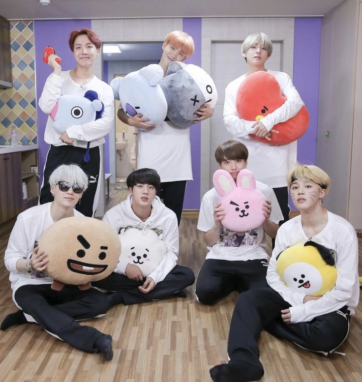 Bts and bt24... so adorable~