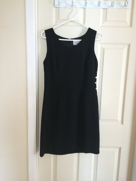 LBD Little Black Dress Sheath Dress by Carin Desireé Company