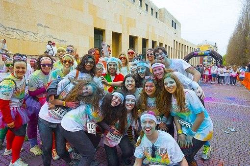 The Color Run em Matosinhos