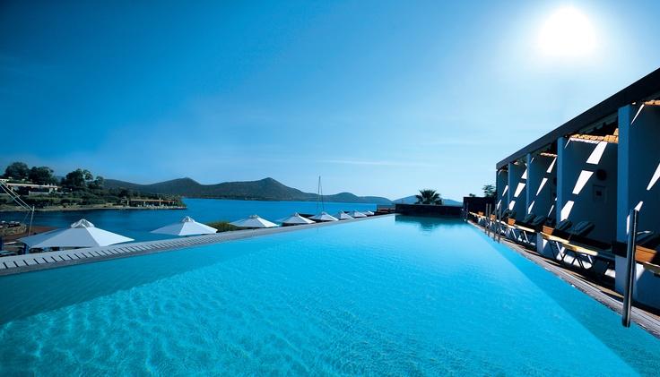 Elounda Bay Palace, #Crete, #Greece #pool #beach #luxury #hotel