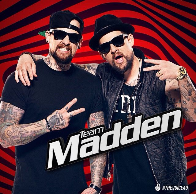 Team Madden The Voice Australia