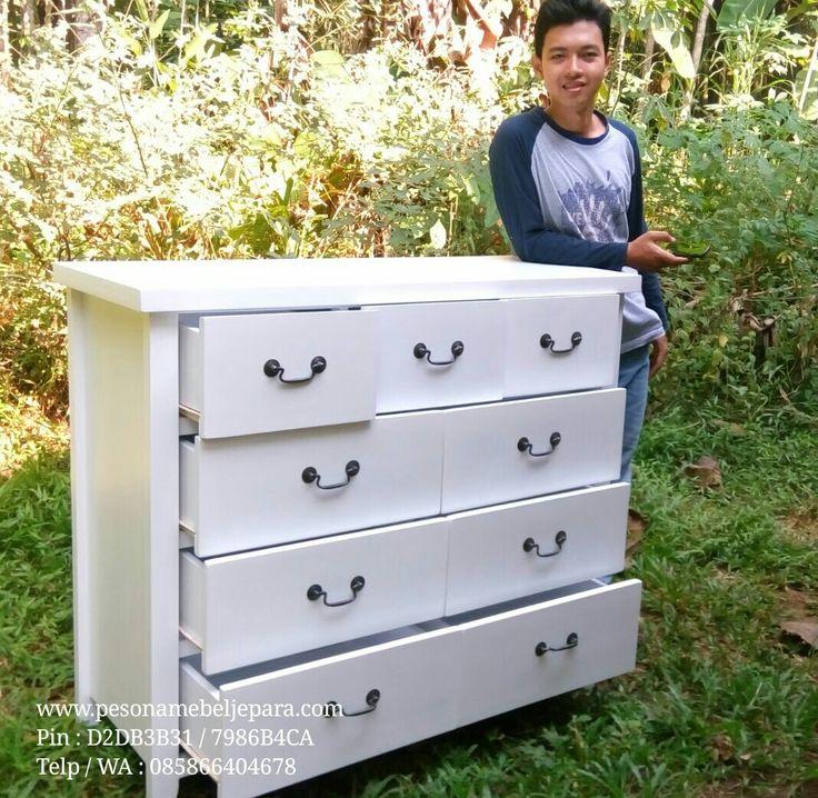 Jum'at berkah.. Marhaban ya Ramadhan. Sebelum ke makam upload dulu. Hhe Bismillah.. Silahkan yg ingin pesan,  Bahan kayu mahoni. Finishing duco white dove Langsung dari pengrajin..   #commode #commodechest #commodechest6drawer #commodechest9drawe #drawer #drawerduco #teakfurniture #meuble #furniture #mahoganyfurniture #ducofurniture #pesonamebeljeparagroup #pesonamebeljepara #pesonamebel #pesonajepara #mebeljepara #mebelpesona #mebelpesonajepara #jeparapesona #jeparapesonamebel #instapic…