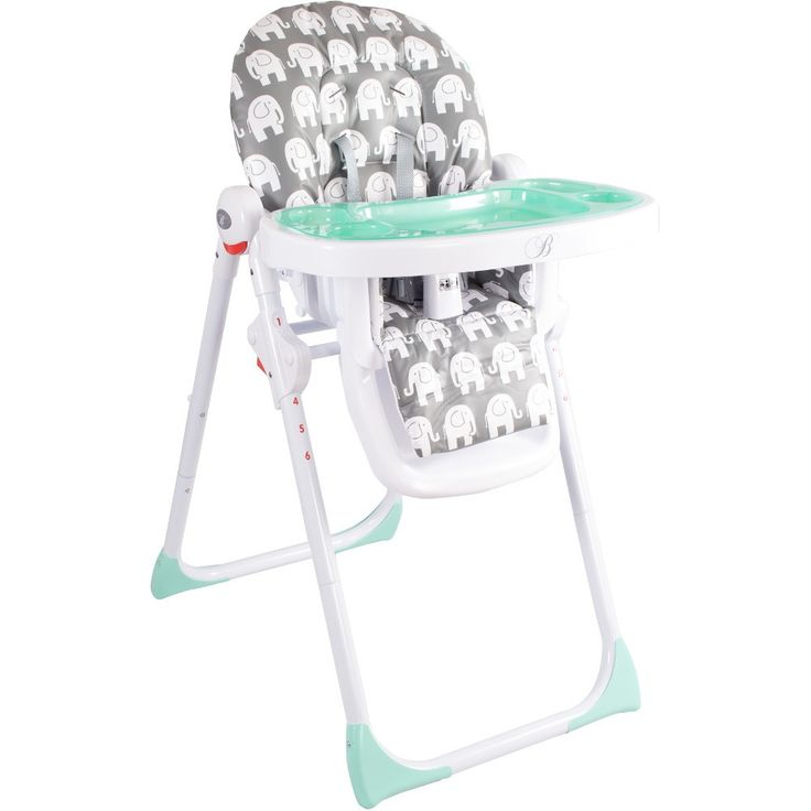 My Babiie Billie Faiers MBHC8ZZ Premium Highchair (Elephants)