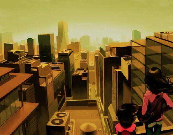 buildings by Tomiokajiro