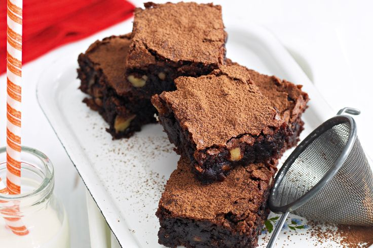 Gluten-free chocolate brownies | Gluten and Grain Free | Pinterest