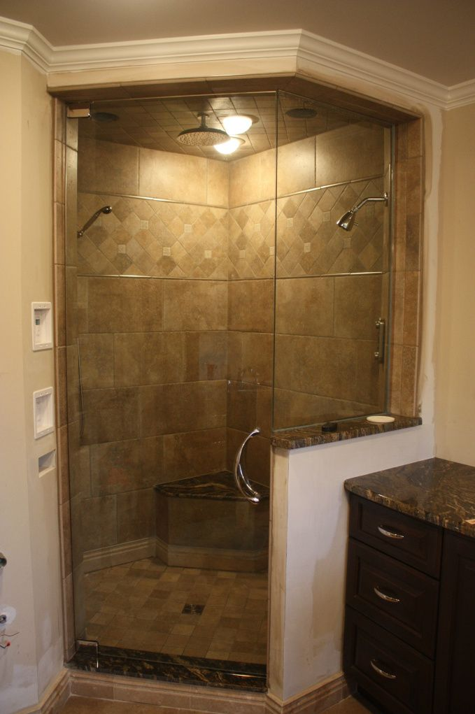 from Bathrooms Forum shower door up to ceiling