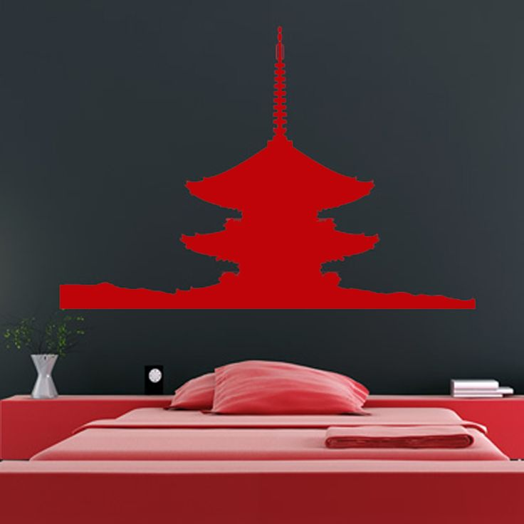 Japanese Pagoda Wall Sticker //Price: $12.44 & FREE Shipping //     {#ethnic #fashion #style #traditional |#indian #beautiful #unique| #love #shopping | #ethnicwear #etnik |#vintage #dress | #bohochic #indianwear| #art  #hippie |#beauty #fashion | #sale #design |#onlineshopping #accessories | #Indean #Japanese #african