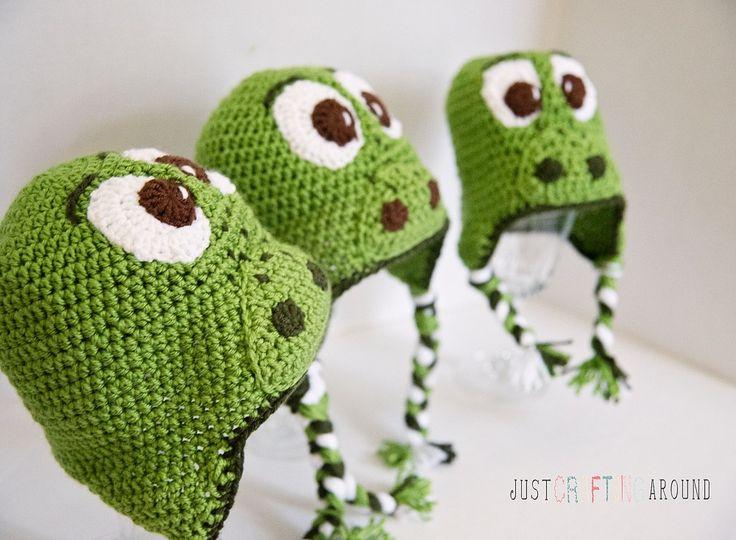 """Free"" Arlo the good dinosaur hat pattern # freecrochetpattern #justcraftingaround"