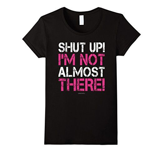 Funny running t-shirts, running quotes - race motivation. Gift ideas for runners, whether running marathons, ultra, trails, or is a beginner training for their first 5K or 10K! Can be good for high school and college students for cross country or track too. Fitness gifts to help with the workout, race bib and medal display, or make a runner's gift basket! So whether it's Christmas, birthday, another holiday gift, or just a post-race celebration after a first race, good for women and for men!