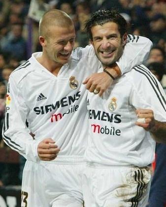 Beckham & Figo.