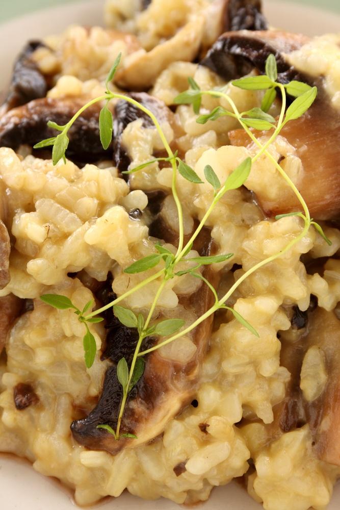 risotto alle erbe selvatiche - La tavernetta #veneto #padua #rice #risotto #tastes #typical #italy #food