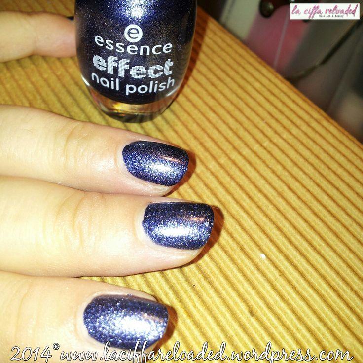 Essence Effect Nail Polish Sparkling Sugar Col. 07 Blue Jeaned