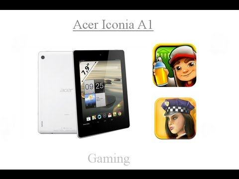 Acer Iconia A1 Gaming (+playlist)