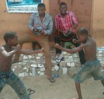 Playstation in Africa!