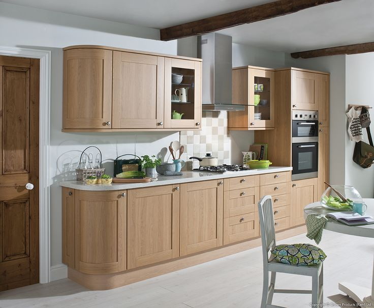 Academy Haydock Traditional Kitchen with White Minerva Tops