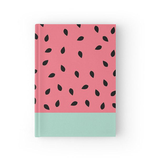 Watermelon Notebook by PencilMeInStationery on Etsy