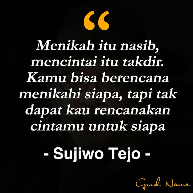 Quotes Sujiwo Tejo