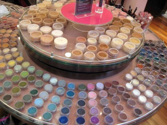 Bare Minerals Store is like a candy store to me