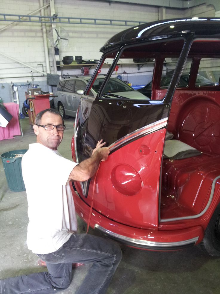 Adrian, George's panel beater is a genius. It was his first time restoring a kombi. I think he liked it so much he has agreed to also work on the next one :-)