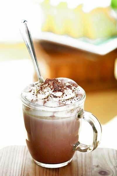 Cioccolata calda  #betteringlass #vetro #glassislife