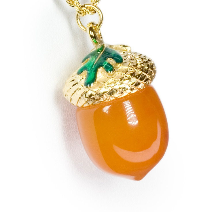 Cute Acorn Necklace!! :)