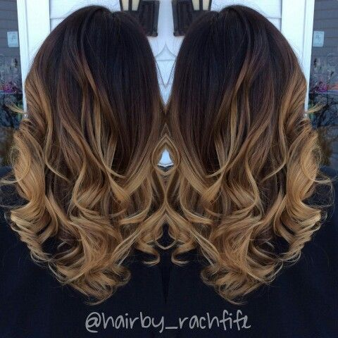 Guy Tang Inspired Gorgeous High Contrast Balayage Ombre