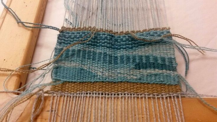 My first weaving sample