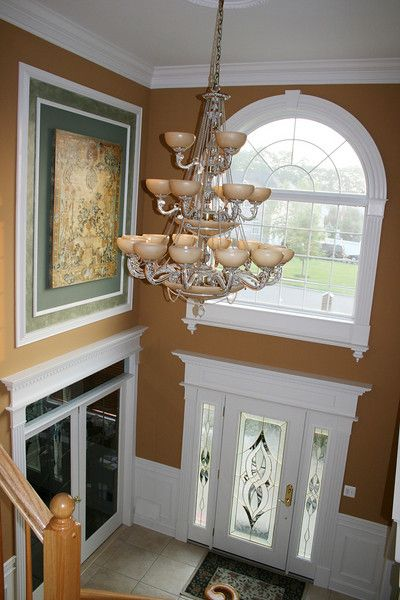 Two Story Foyer Wall Art : Best images about front entryway ideas on pinterest