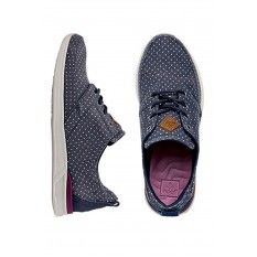 Reef Rover Low Print Shoes Navy/Dot
