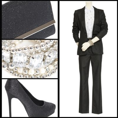 A Tuxedo for Her   @Reitmans @ALDO Shoes