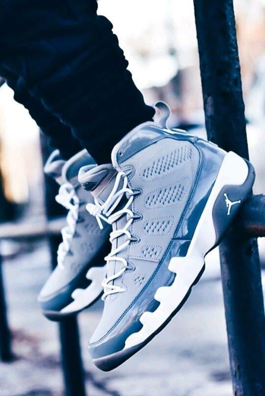 low priced 93dba e0143 air jordan 9 cool grey on feet