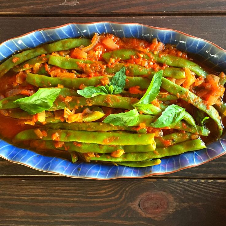 Green Beans Cooked Turkish Style (Zeytinyağlı Fasulye )  recipe on Food52