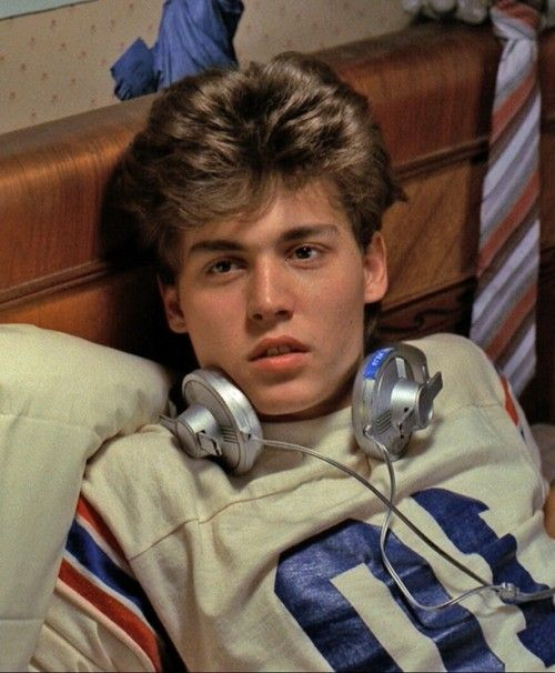 Johnny Depp in his first movie  'A Nightmare On Elm Street' 1984