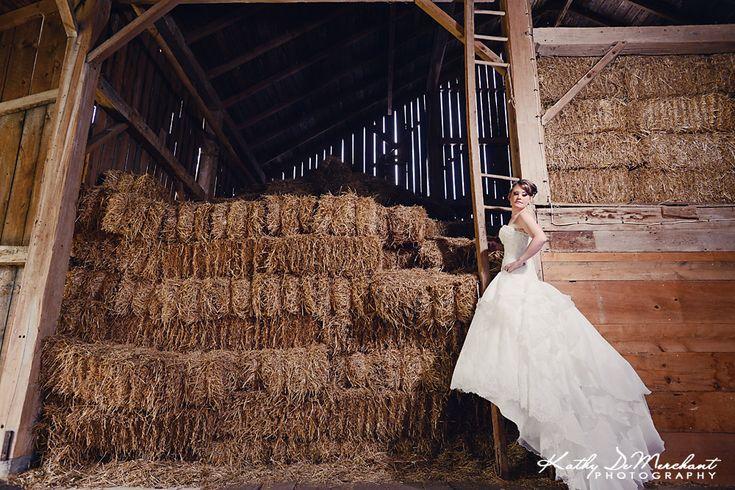 #barn #bridal #photography Jillian + Chris | Married | Huron County Wedding Photographer | Farm Wedding Photography
