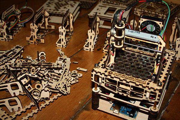 3ders.org - Microslice: a mini Arduino laser cutter & engraver | 3D Printer News & 3D Printing News