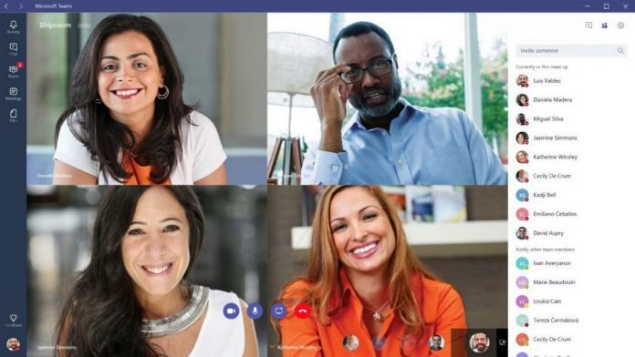 Microsoft Teams Adds Zoom Like Custom Backgrounds Support For Video Calls Microsoft Chat App Video Conferencing