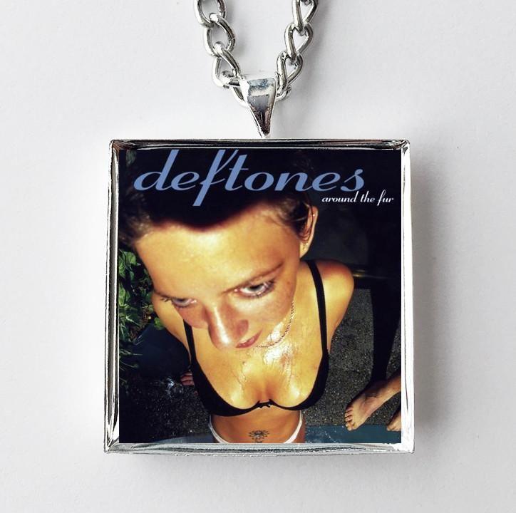 Deftones - Around the Fur - Album Cover Art Pendant Necklace