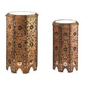 Found it at Wayfair - 2 Piece Moroccan Side Table Set