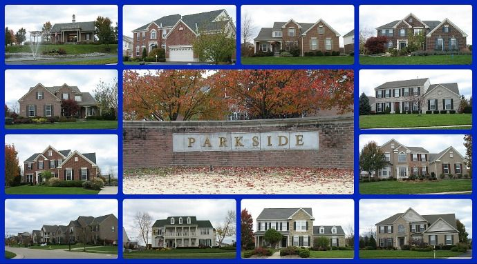 Parkside community of Mason Ohio 45040.  Spacious homes, great amenities and greenspace.  Close to MECC and downtown Mason, Voice of America Park.  Click through to search for Parkside homes for sale.