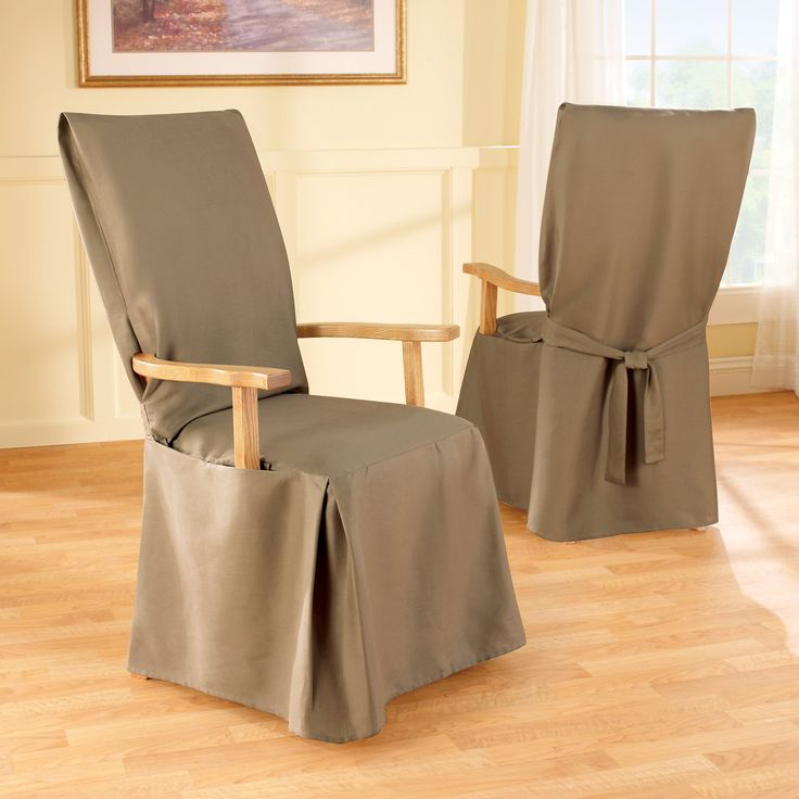 Slipcovers For Dining Chairs With Arms